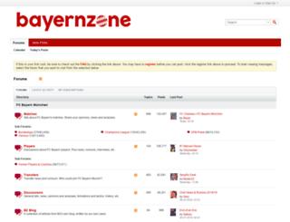 bayernzone.com screenshot