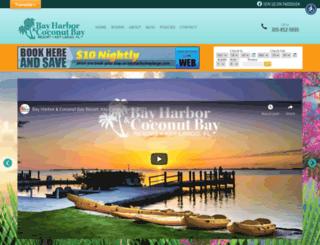 bayharborkeylargo.com screenshot