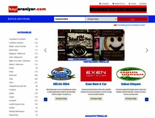 bayiaraniyor.com screenshot