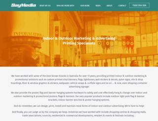 baymedia.com.au screenshot