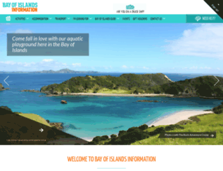 bayofislandsinformation.co.nz screenshot