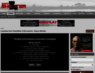 bayoushooter.com screenshot