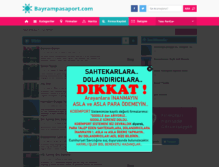 bayrampasaport.com screenshot