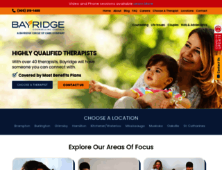 bayridgecounsellingcentres.ca screenshot