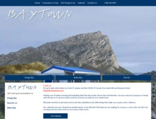 baytown.co.za screenshot