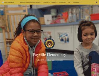 bayville.btboe.org screenshot