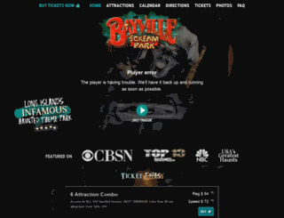 bayvillescreampark.com screenshot