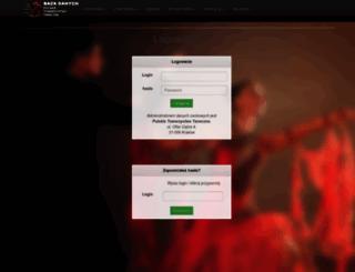 baza.taniec.pl screenshot