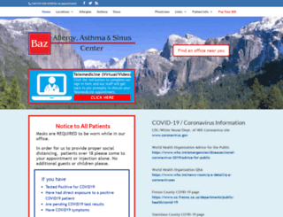 bazallergy.com screenshot