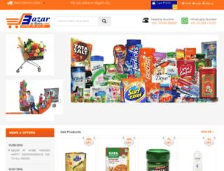 bazarathome.com screenshot