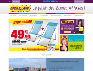 bazarland.fr screenshot