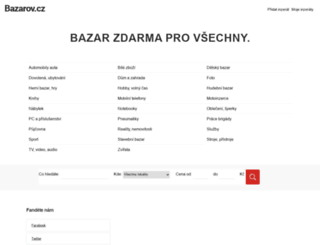 bazarov.cz screenshot