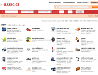 bazec.cz screenshot