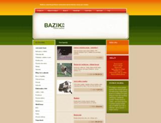 bazik.cz screenshot