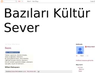 bazilarikultursever.blogspot.com screenshot