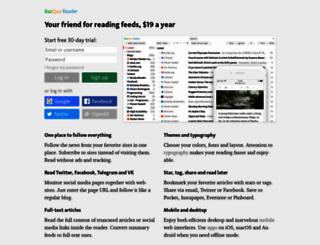 bazqux.com screenshot