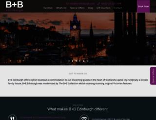 bb-edinburgh.com screenshot