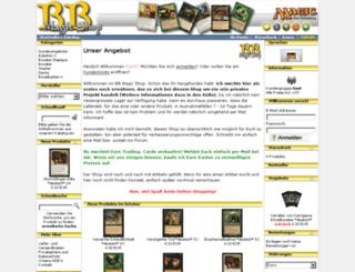 bb-magic-shop.de screenshot