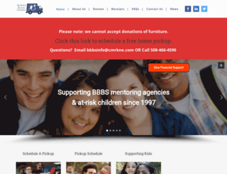 bbbsfoundation.org screenshot