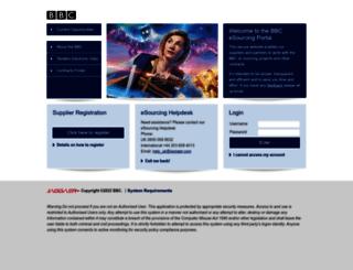 bbc.bravosolution.co.uk screenshot