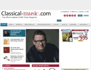 bbcmusicmagazine.com screenshot