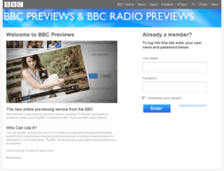bbcpreviews.co.uk screenshot
