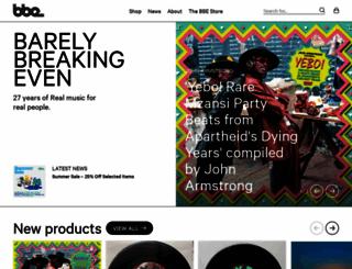 bbemusic.com screenshot