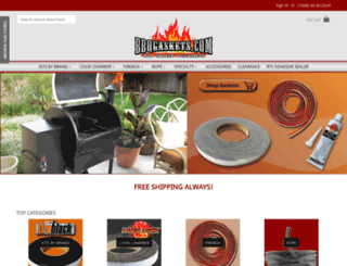 bbqgaskets.com screenshot