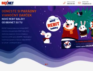 bbxnet.sk screenshot