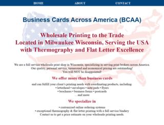 bcaaonline.com screenshot