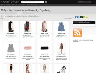 bcbg.fashionstylist.com screenshot