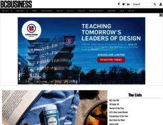 bcbusiness.ca screenshot