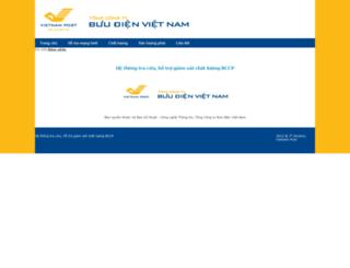 bccp.vnpost.vn screenshot