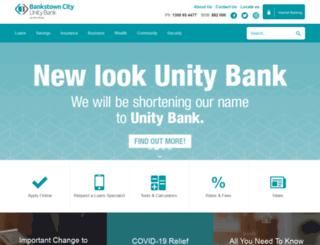 bccu.com.au screenshot