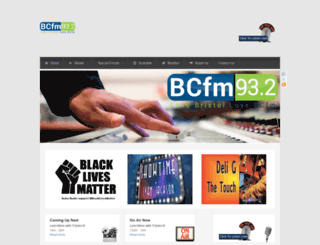 bcfmradio.com screenshot