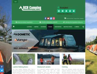 bchcamping.co.uk screenshot