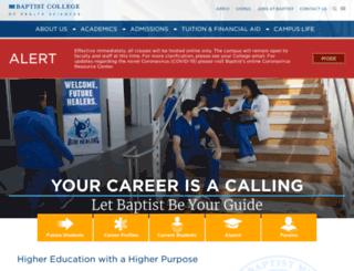 bchs.edu screenshot