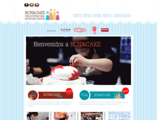 bcnandcake.com screenshot