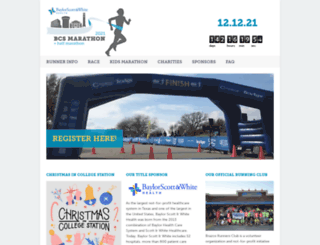 bcsmarathon.com screenshot
