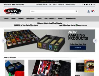 bcwsupplies.com screenshot