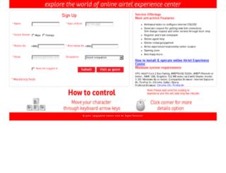 bd.airtelvirtualstore.com screenshot