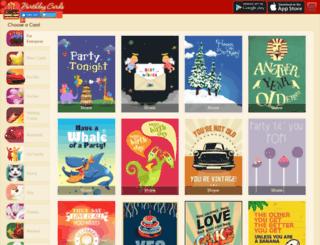 bdaycards.com screenshot