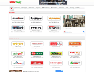 bdnewstoday.com screenshot