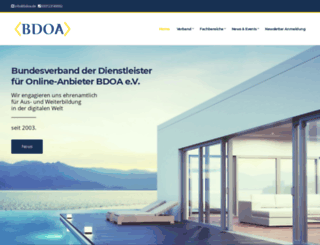 bdoa.de screenshot