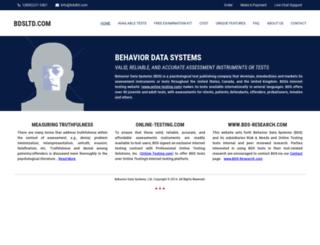 bdsltd.com screenshot