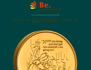 be-cards.uk screenshot