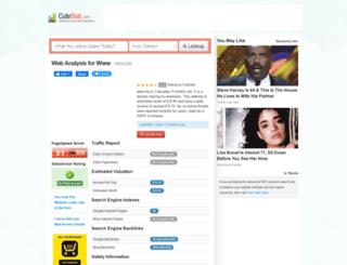be.cutestat.com screenshot