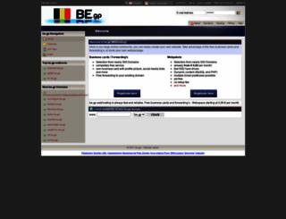 be.gp screenshot