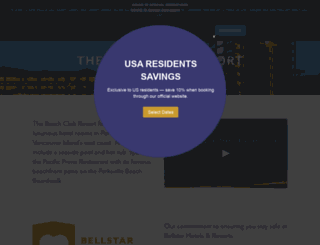 beachclubbc.com screenshot