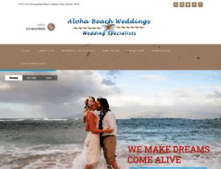 beachmauiweddings.com screenshot